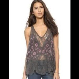 Free People Bell Trapeze Camisole NEW